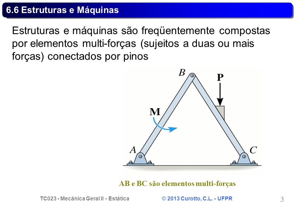 6.6 Estruturas e Máquinas