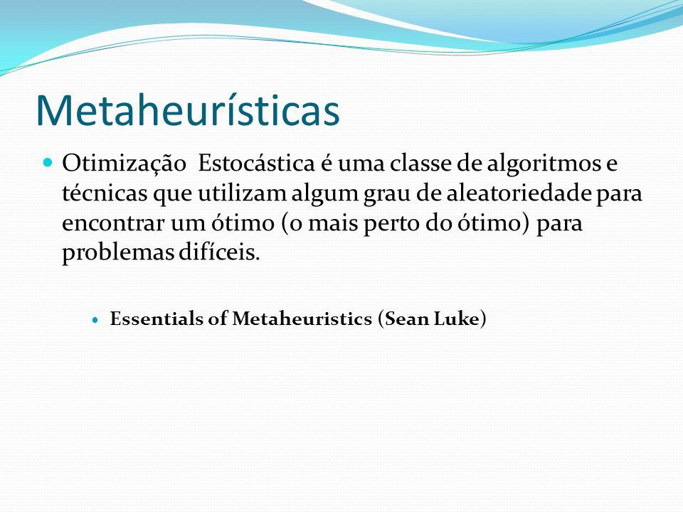 Metaheurísticas