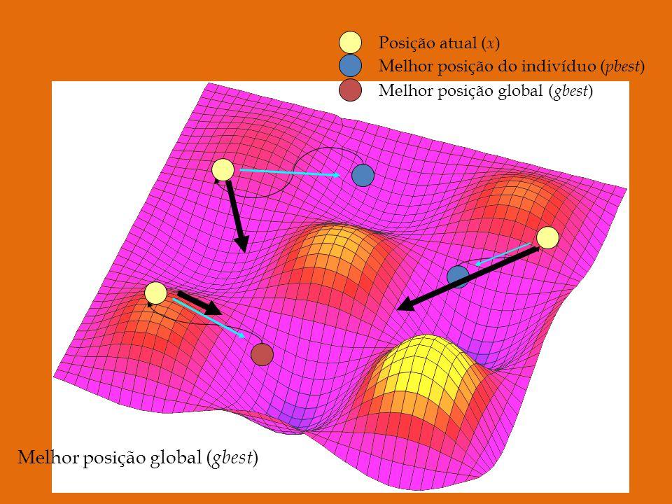 Melhor posição global (gbest)