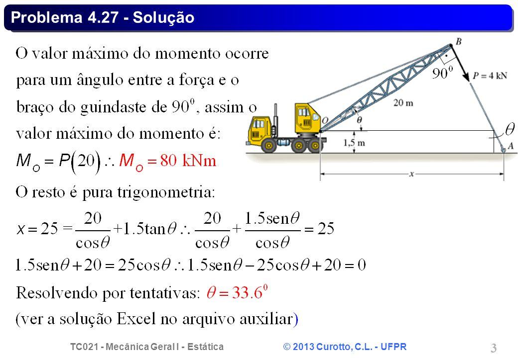 Problema 4.27 - Solução .