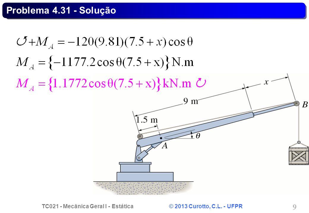 Problema 4.31 - Solução
