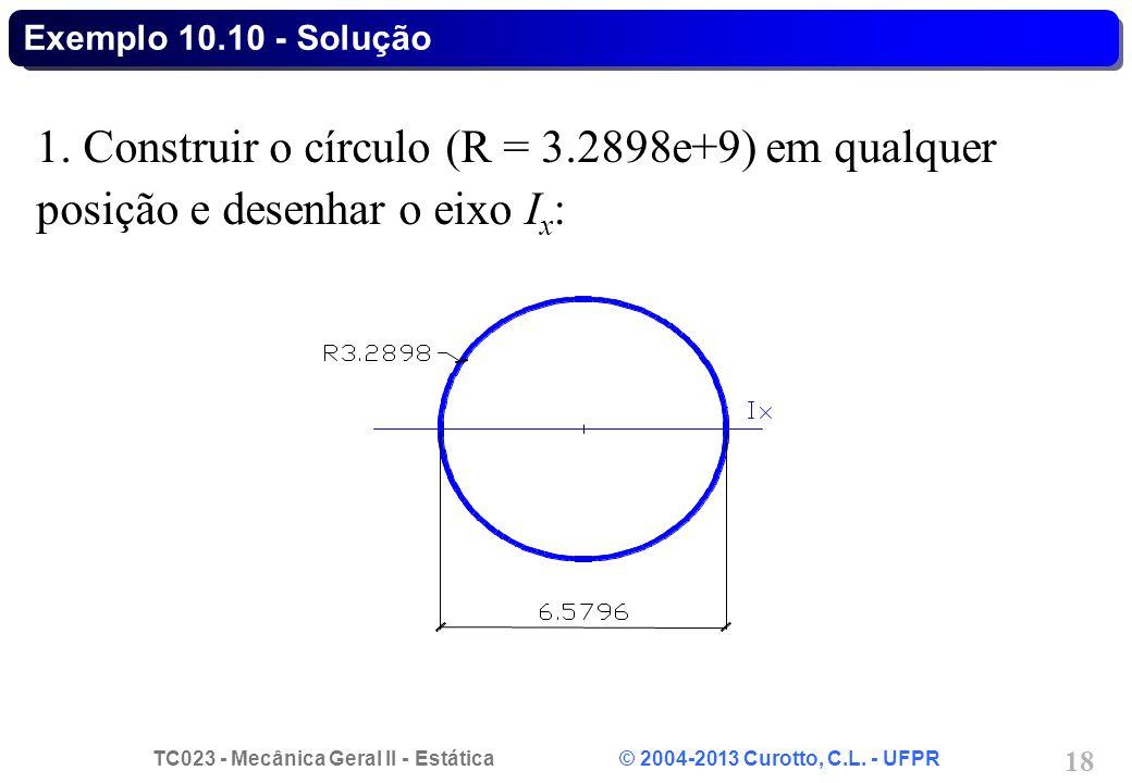 Exemplo 10.10 - Solução 1.