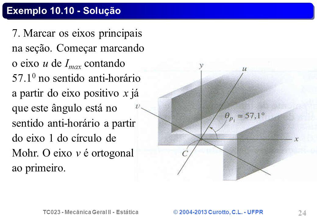 Exemplo 10.10 - Solução