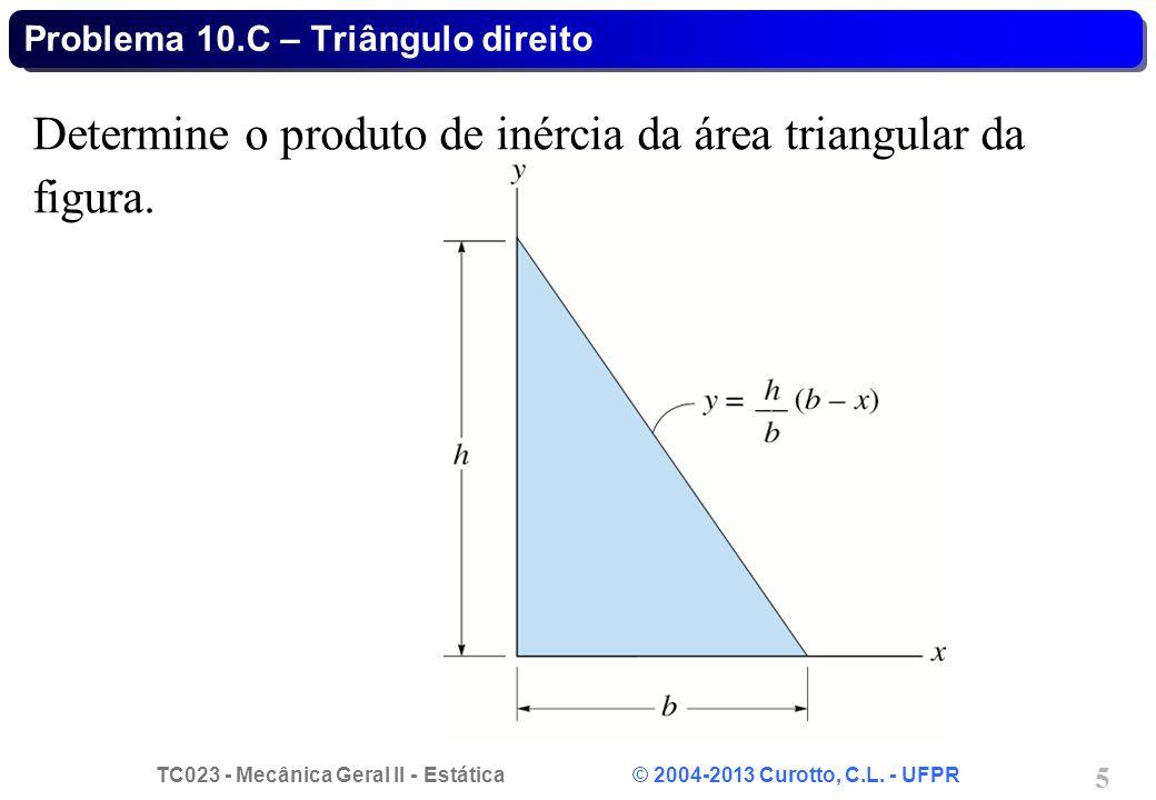 Problema 10.C – Triângulo direito