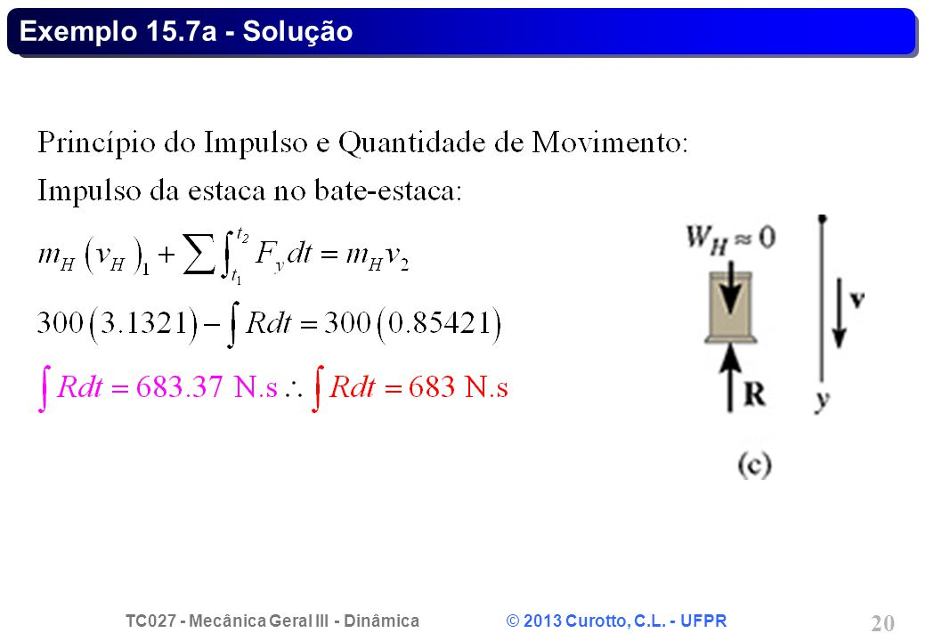 Exemplo 15.7a - Solução