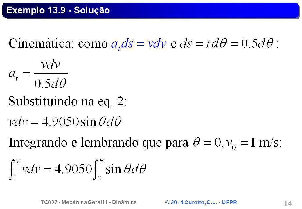 Exemplo 13.9 - Solução