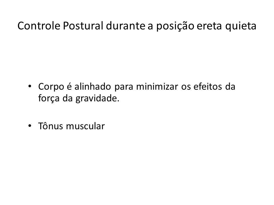 Controle Postural durante a posição ereta quieta