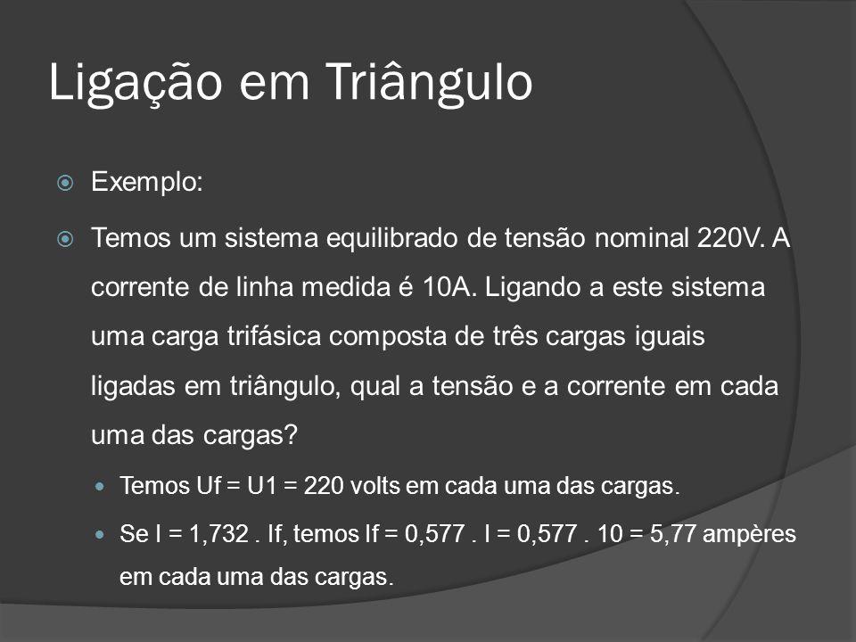 Ligação em Triângulo Exemplo: