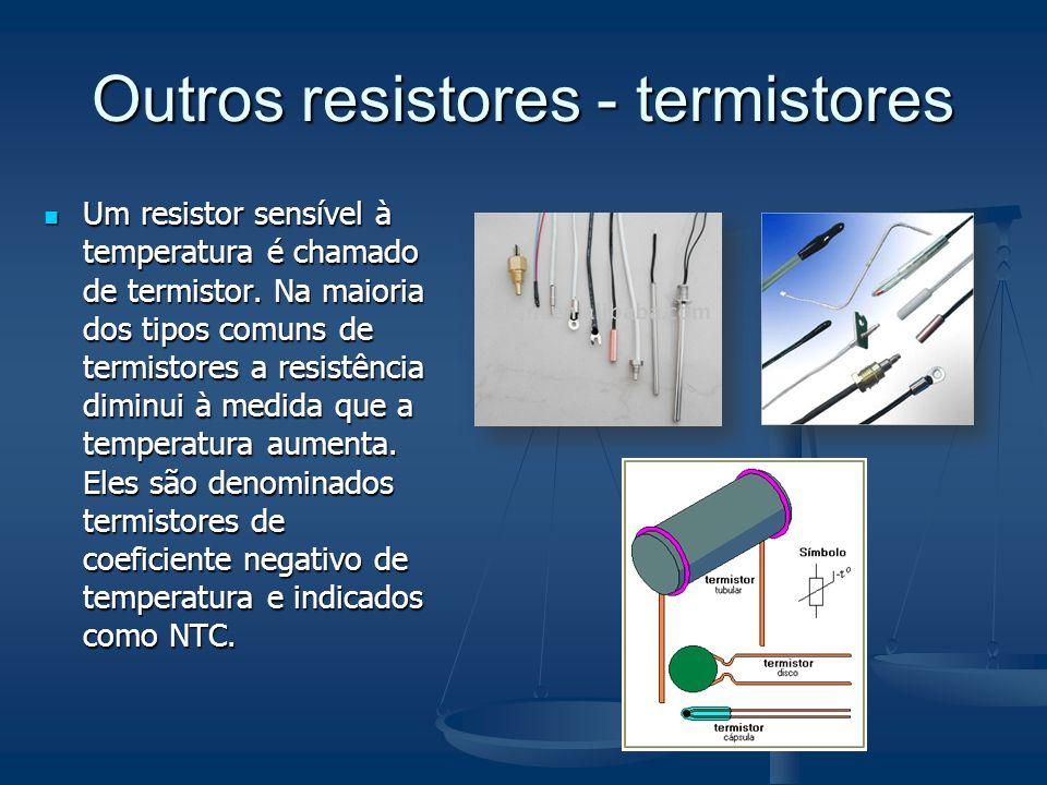 Outros resistores - termistores