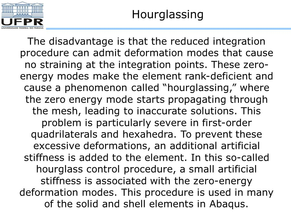 Hourglassing