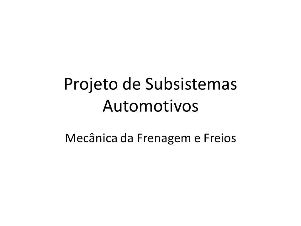 Projeto de Subsistemas Automotivos