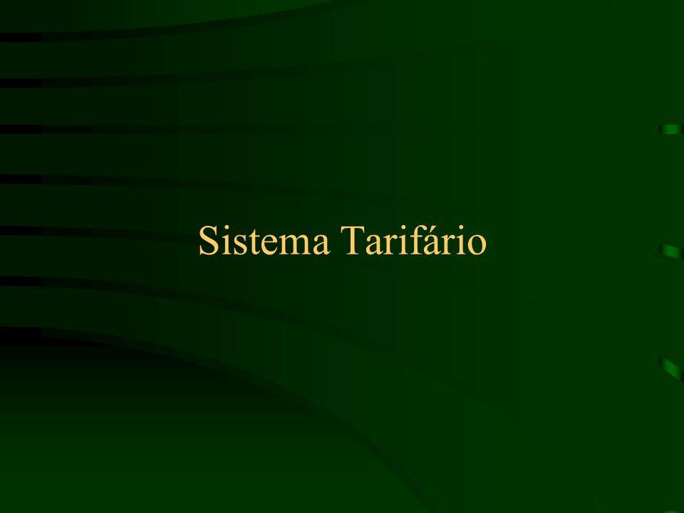 Sistema Tarifário