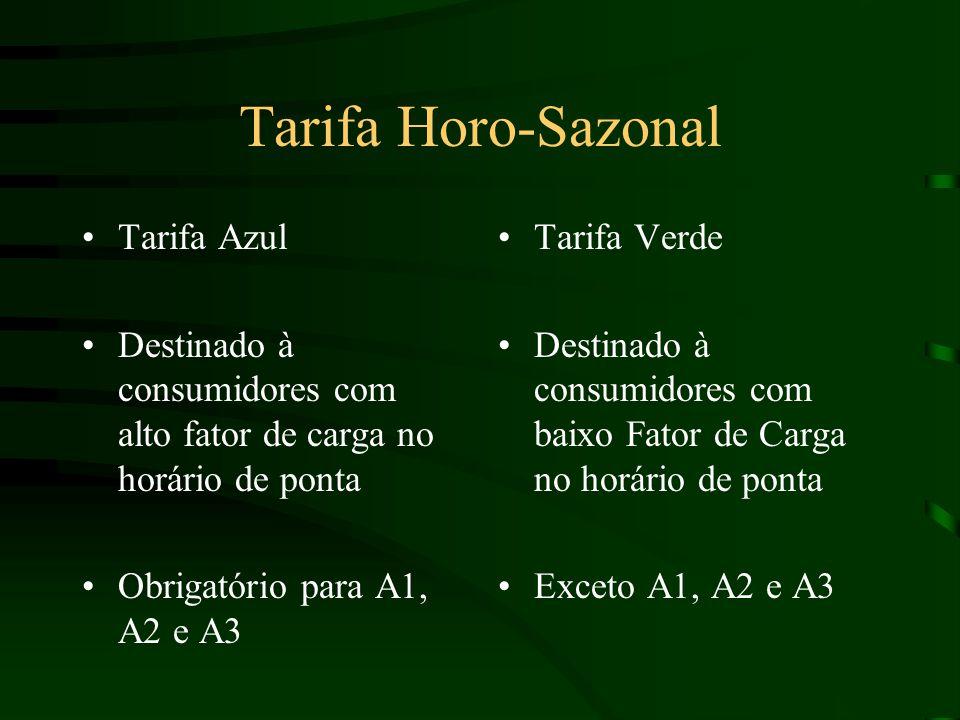 Tarifa Horo-Sazonal Tarifa Azul