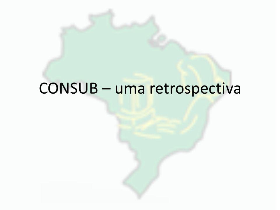 CONSUB – uma retrospectiva