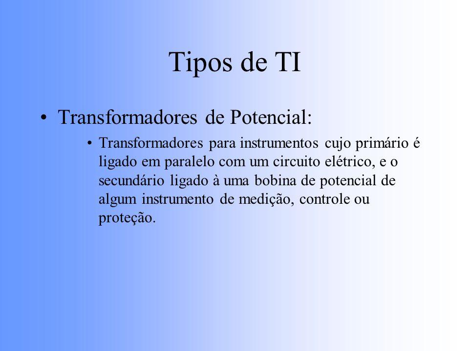 Tipos de TI Transformadores de Potencial: