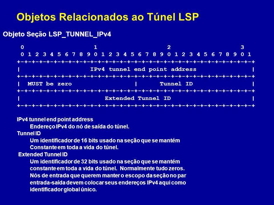 Objetos Relacionados ao Túnel LSP