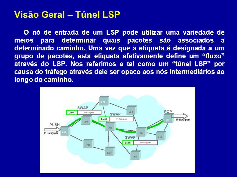 Visão Geral – Túnel LSP