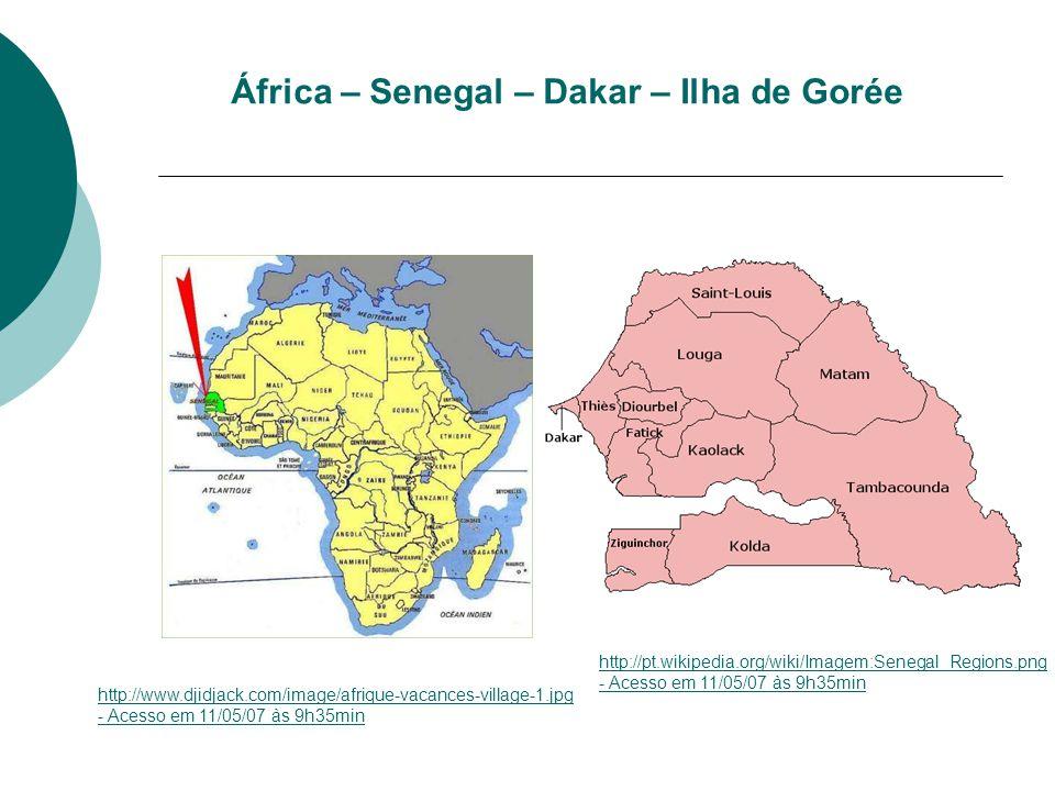 África – Senegal – Dakar – Ilha de Gorée