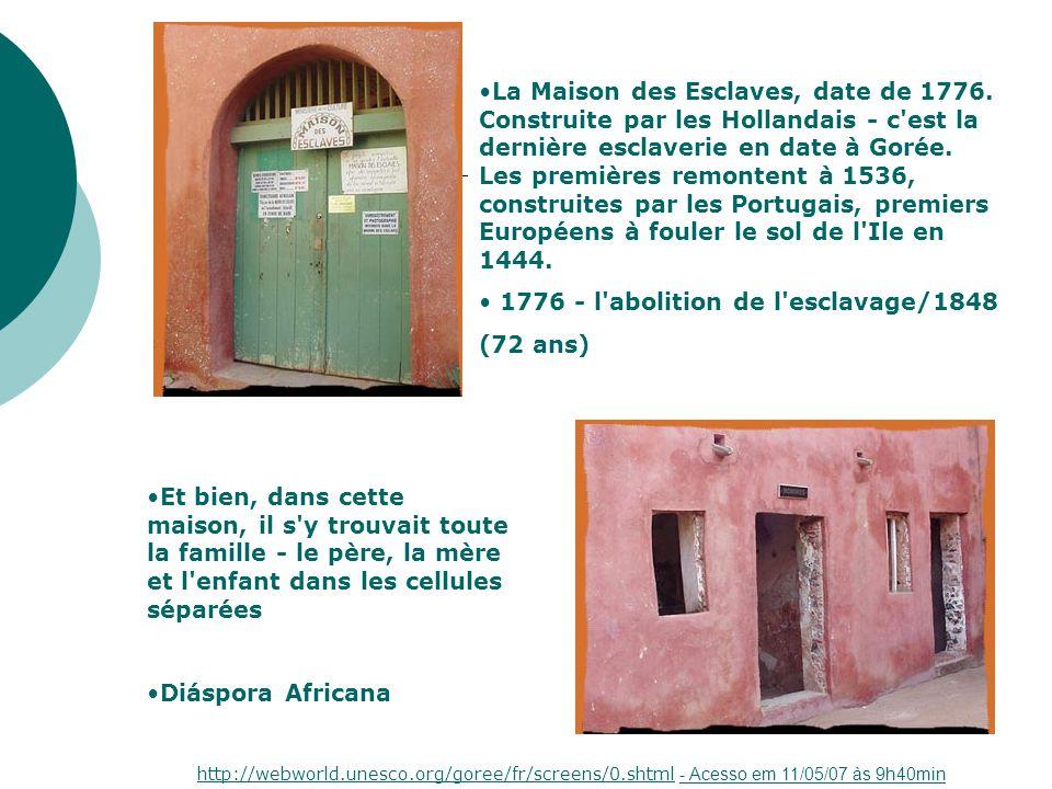 1776 - l abolition de l esclavage/1848 (72 ans)