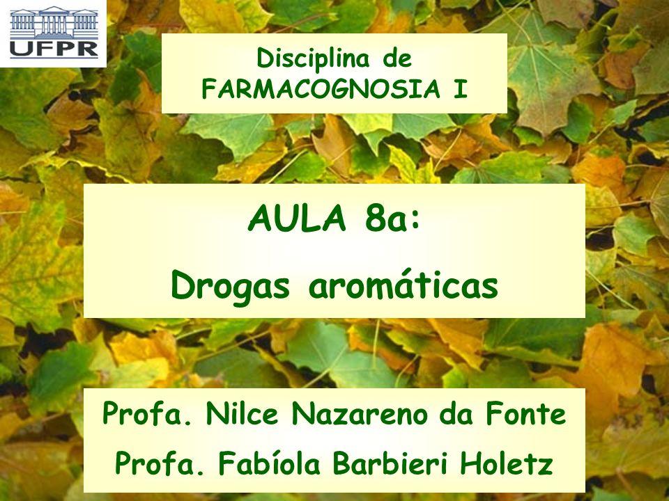 AULA 8a: Drogas aromáticas