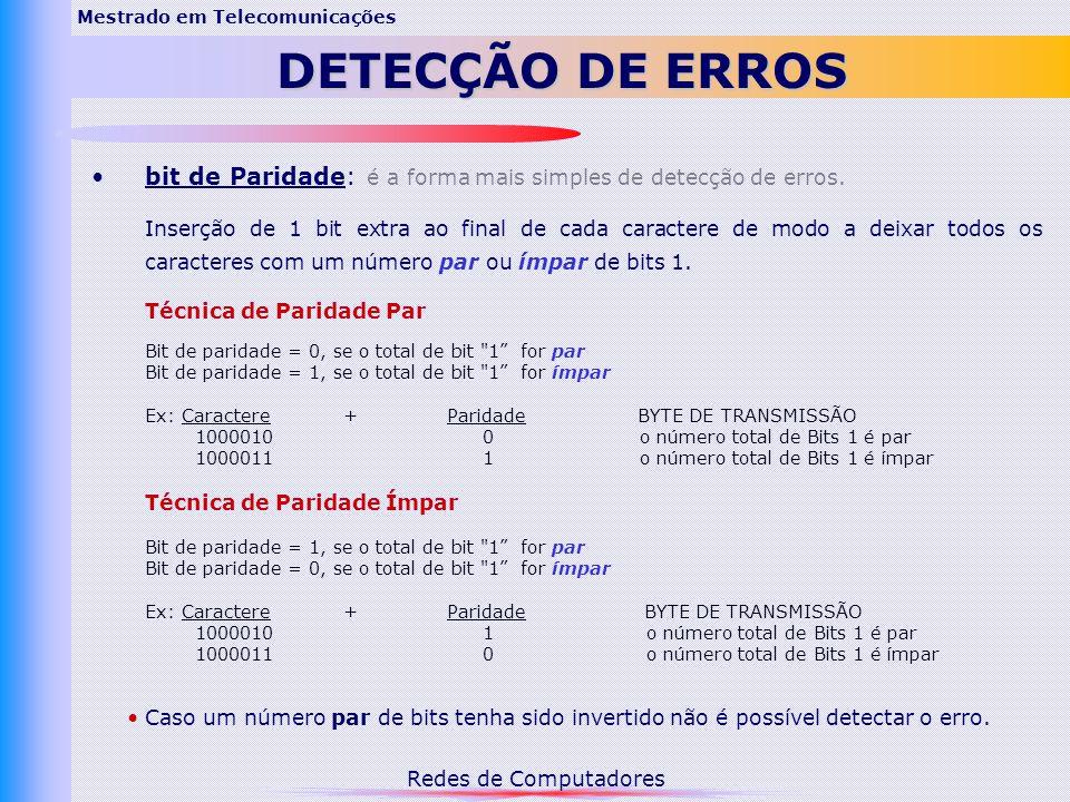 Mestrado em Telecomunicações