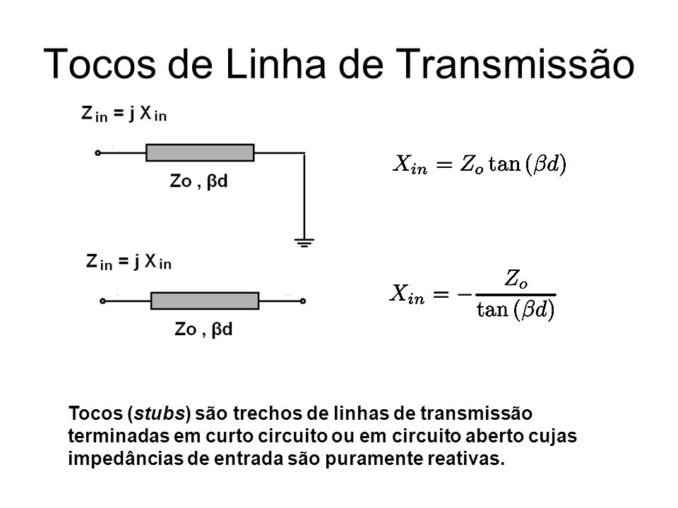 Tocos de Linha de Transmissão