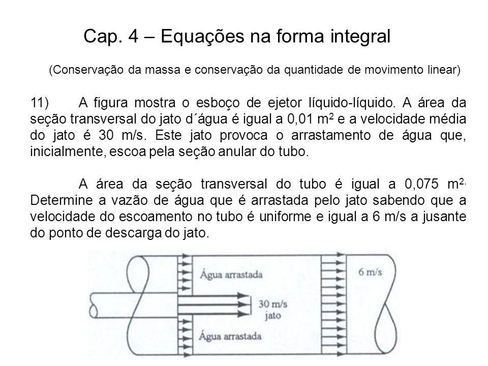 Cap. 4 – Equações na forma integral