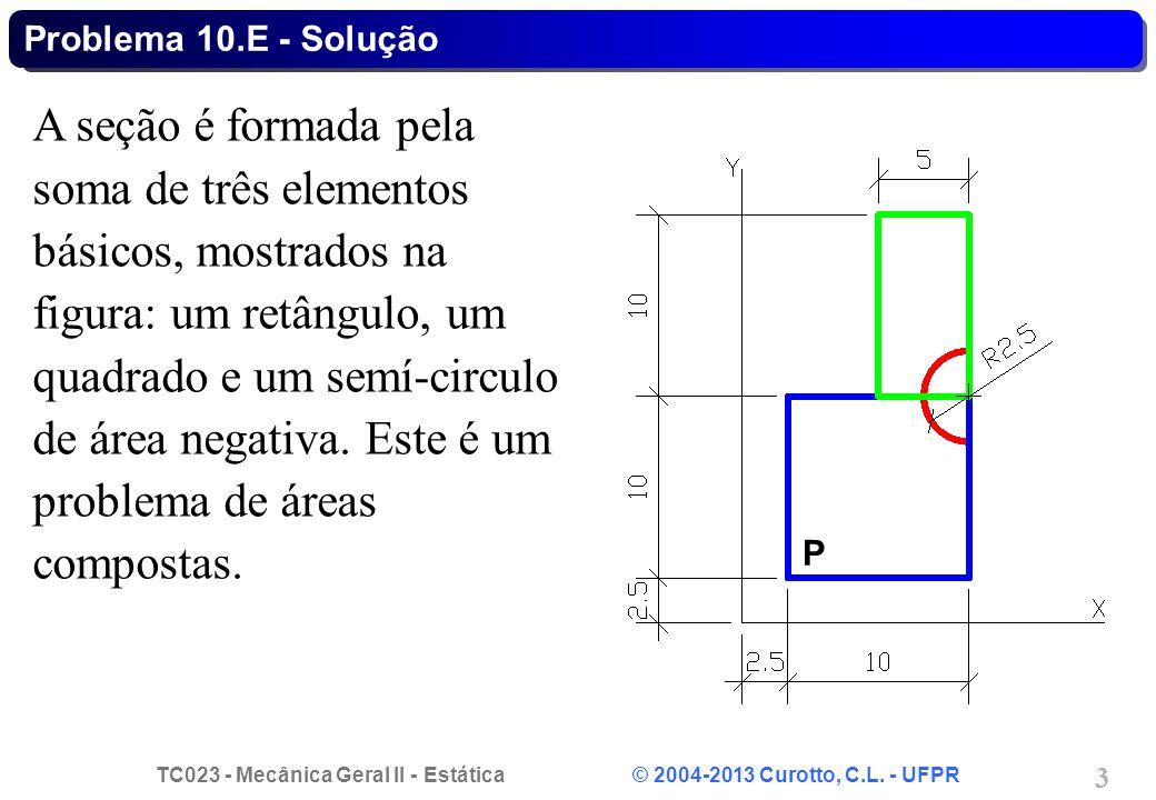 Problema 10.E - Solução