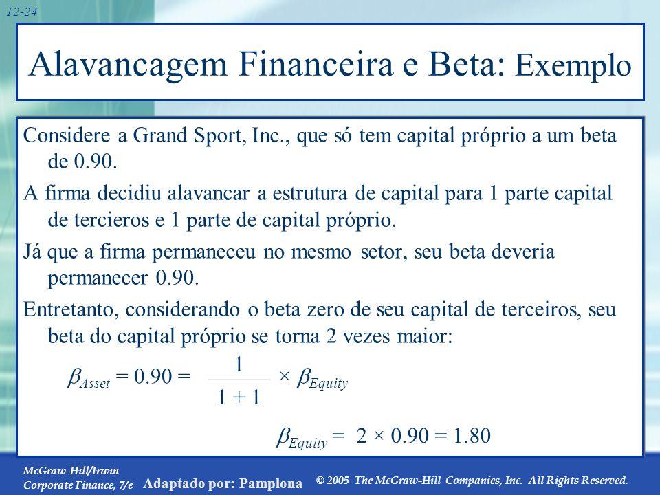 12.4 Extensões do Modelo Básico