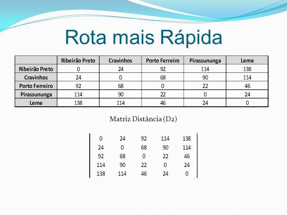 Matriz Distância (D2)