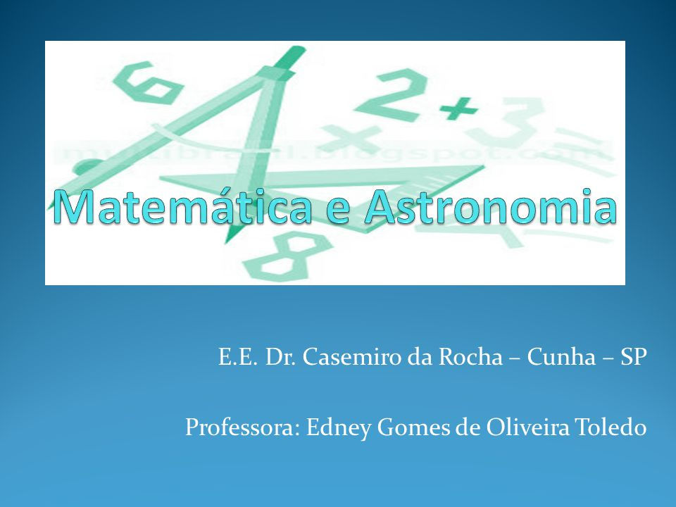 Matemática e Astronomia
