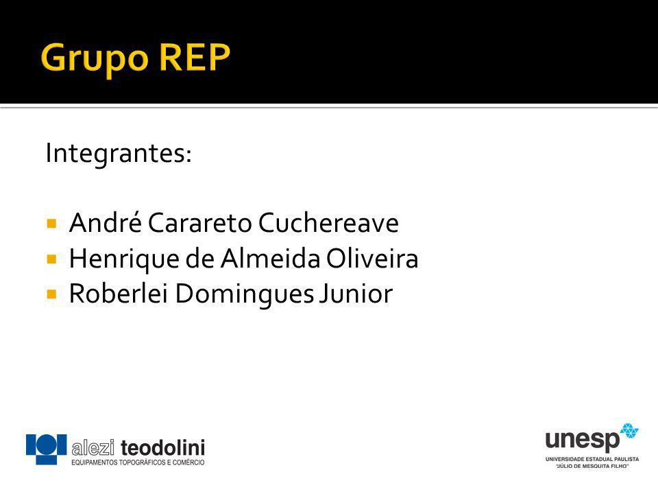 Grupo REP Integrantes: André Carareto Cuchereave