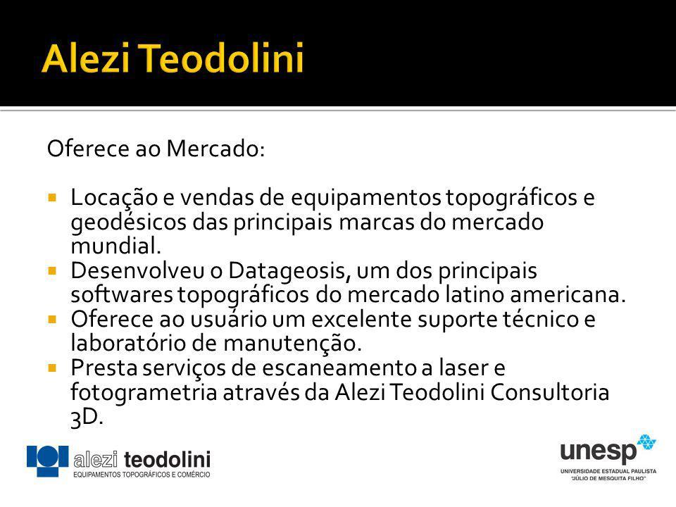 Alezi Teodolini Oferece ao Mercado: