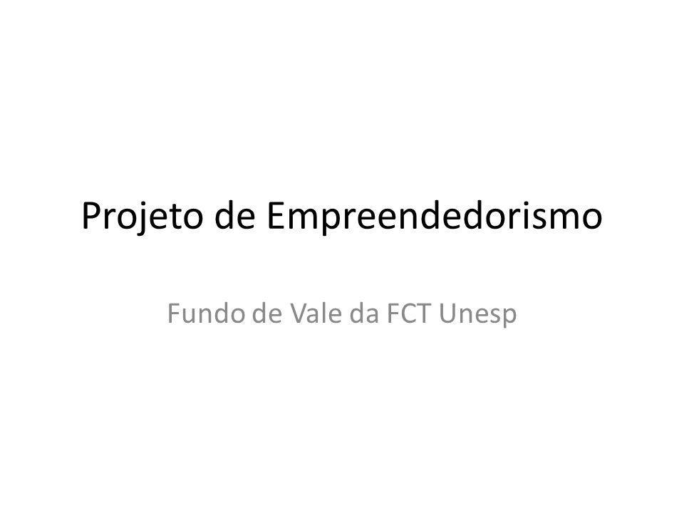 Projeto de Empreendedorismo