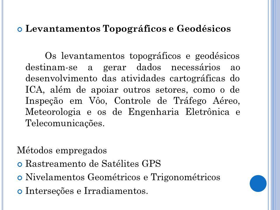 Levantamentos Topográficos e Geodésicos