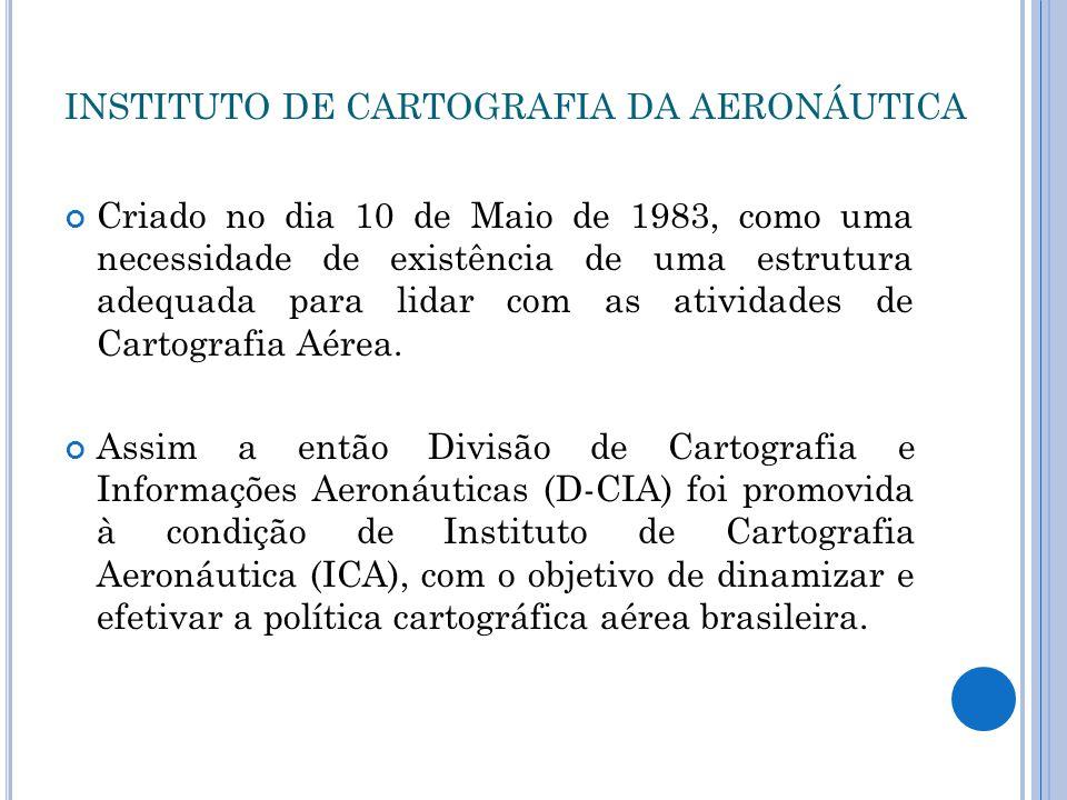 INSTITUTO DE CARTOGRAFIA DA AERONÁUTICA