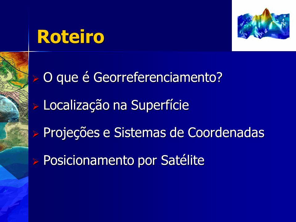Roteiro O que é Georreferenciamento Localização na Superfície