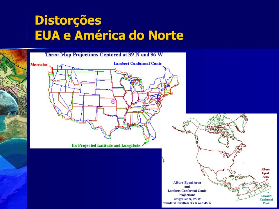 Distorções EUA e América do Norte