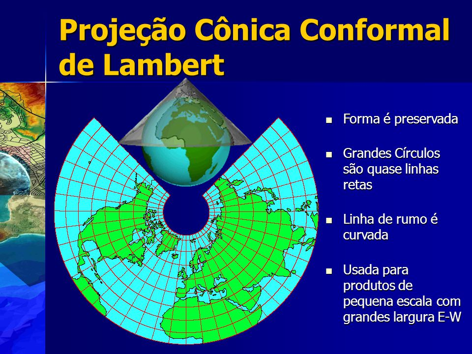 Projeção Cônica Conformal de Lambert