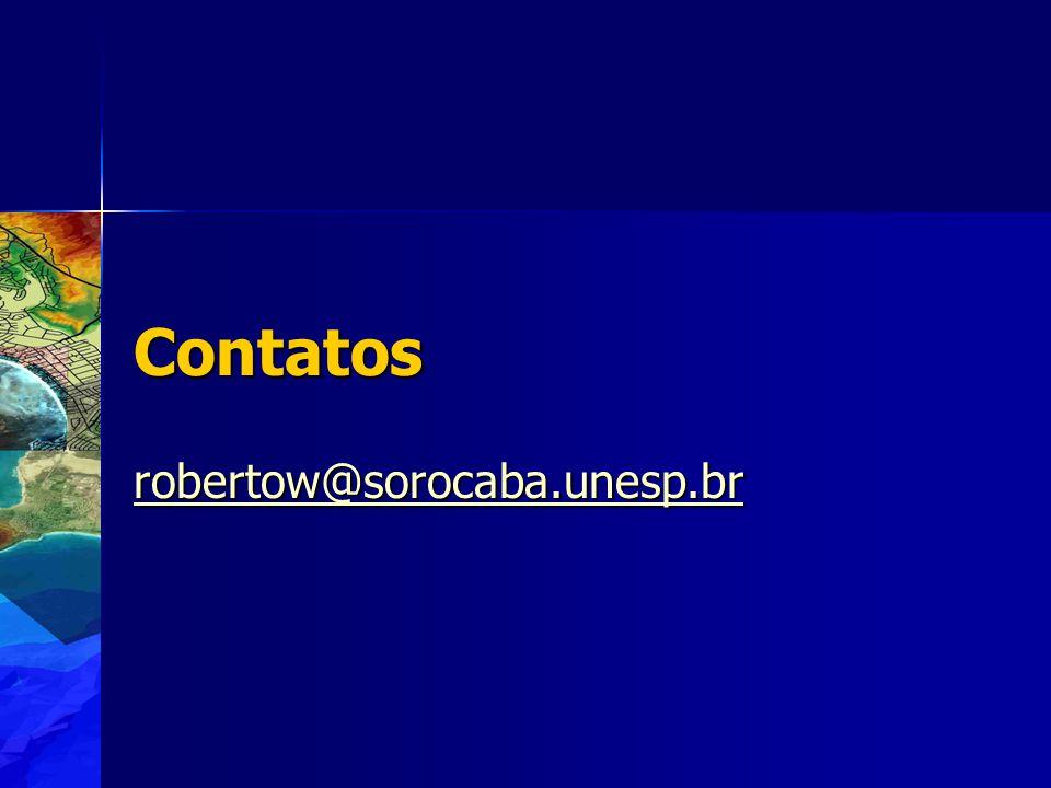 Contatos robertow@sorocaba.unesp.br