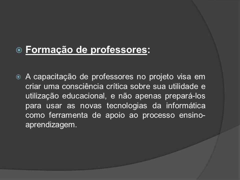 Formação de professores:
