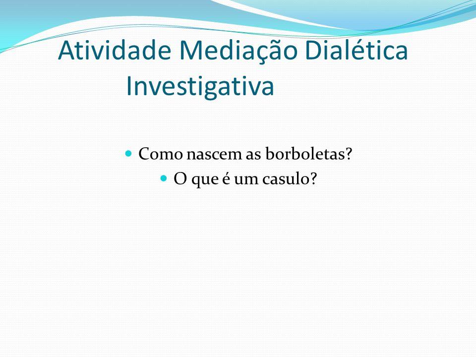 Atividade Mediação Dialética Investigativa