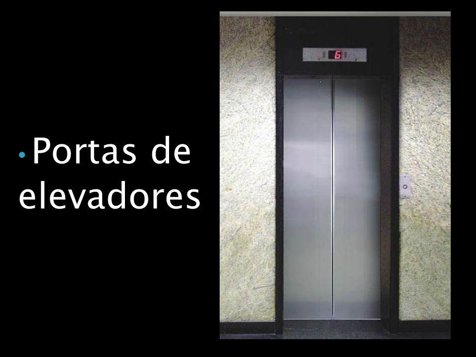 Portas de elevadores