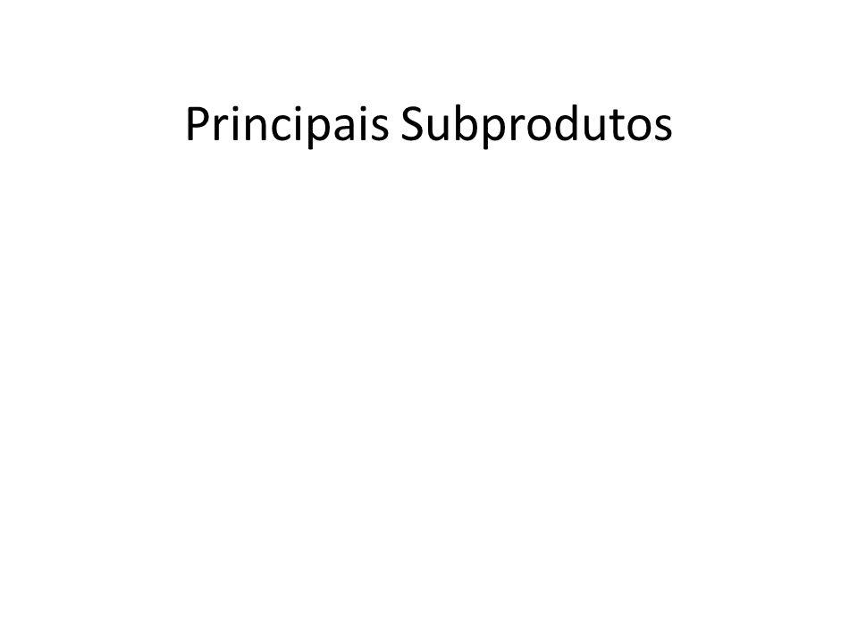Principais Subprodutos