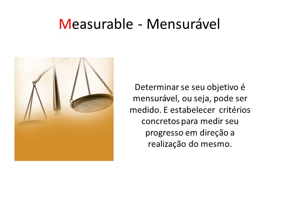 Measurable - Mensurável