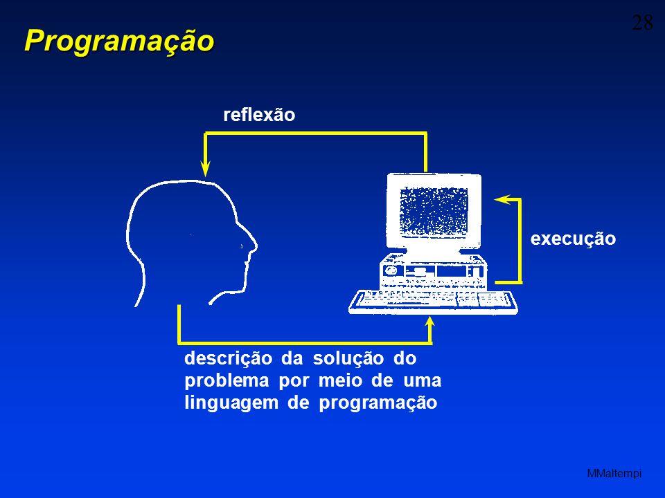 Programação reflexão execução