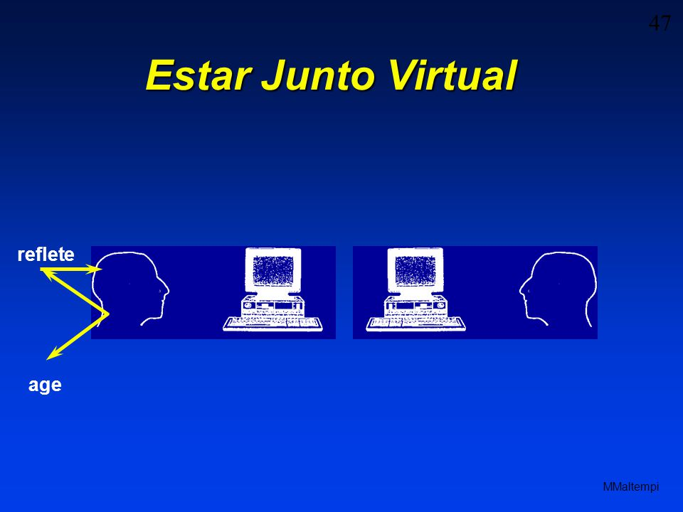 Estar Junto Virtual reflete age