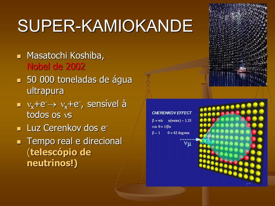 SUPER-KAMIOKANDE Masatochi Koshiba, Nobel de 2002
