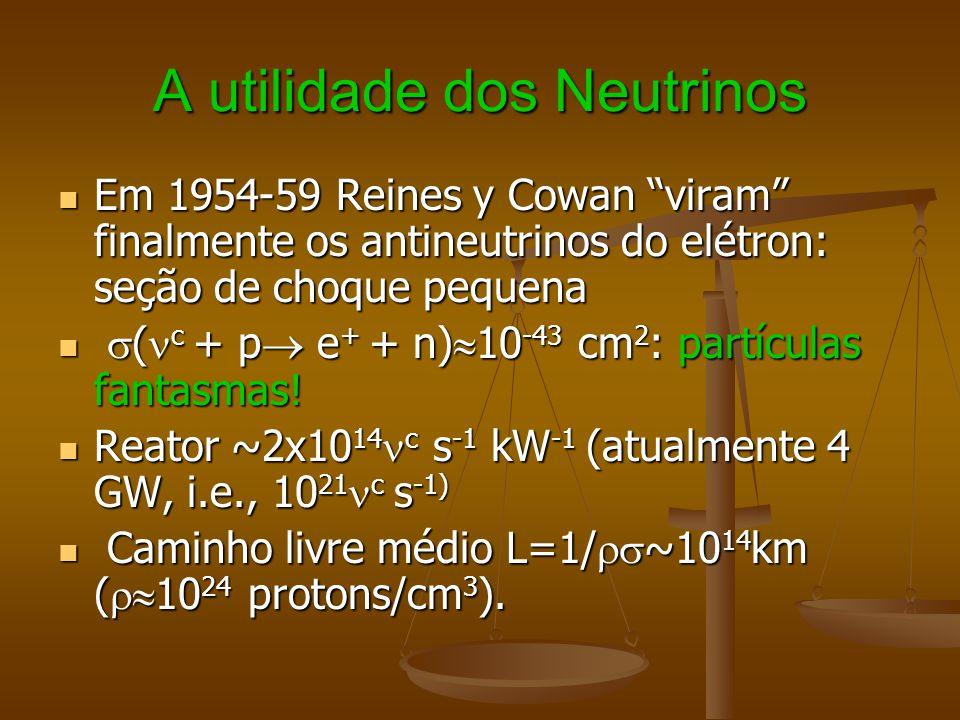 A utilidade dos Neutrinos