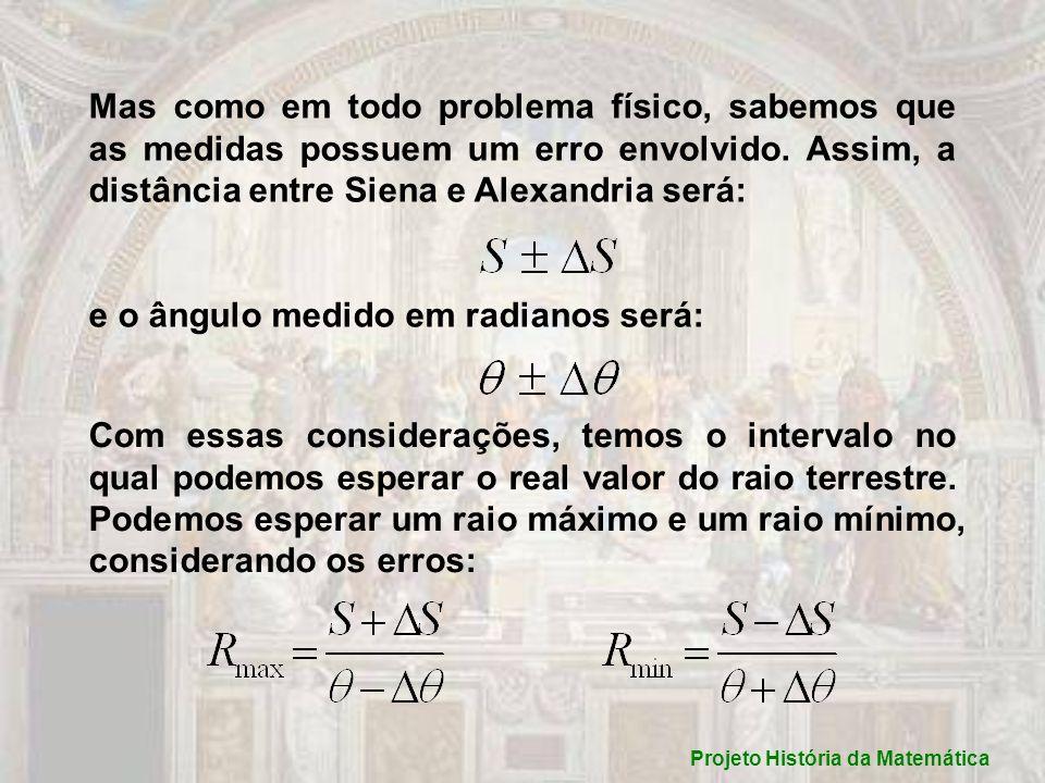 Projeto História da Matemática